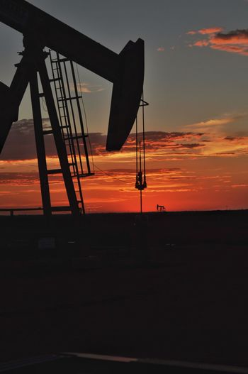 Nikonphotography This Week On Eyeem West Texas Sky_collection Clouds Golden Hour Colorful Sky And Clouds Skyporn Midland, TX Rig Oil Field Pump Jack Oil And Gas Oil Fine Art Photography