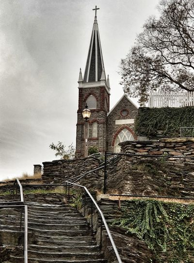 History Built Structure No People Outdoors Note8photography Eyemarket EyeEm Gallery Churches Harpersferry