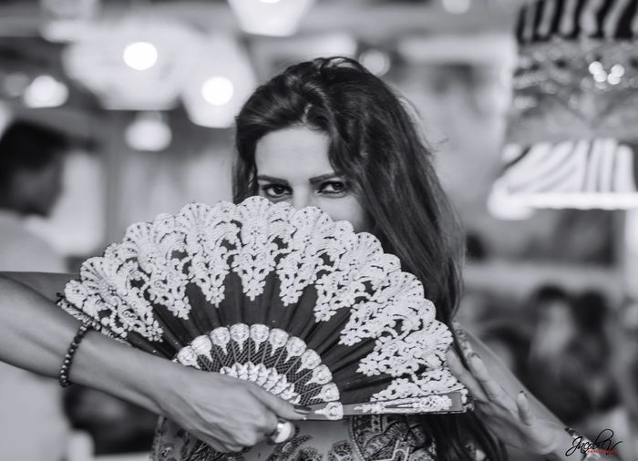 Eyes are the mirror to your soul Real People Focus On Foreground Lifestyles Close-up Portrait Beautiful Woman People Taking Photos Photography Blackandwhite Travel Destinations Andalucía Flamenco