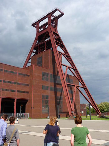 Zeche Zollverein Adult Adults Only Architecture Cloud - Sky Day Large Group Of People Men Nature Outdoors People Sky UNESCO World Heritage Site Zollverein