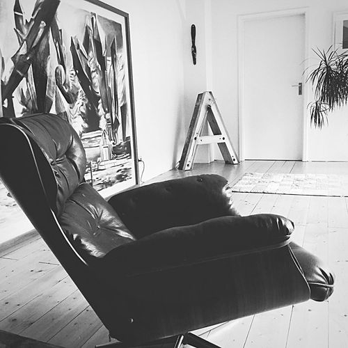 Typography A Home Sweet Home Art Classic Easy Chair From My Point Of View Perspective Average Home