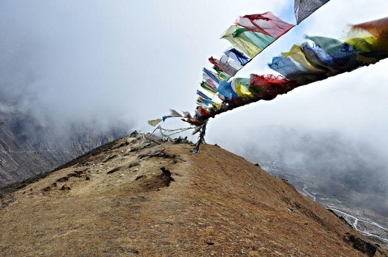 Nepal Travel Prayer Flags  Gokyo The Explorer - 2014 EyeEm Awards