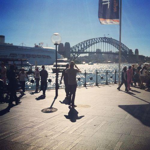 Its hot day. Sydney Bridge Australia Holiday Circularquai All_shoots Natureshots Naturelovers Iphonesia Ig Igers IGDaily Instanature