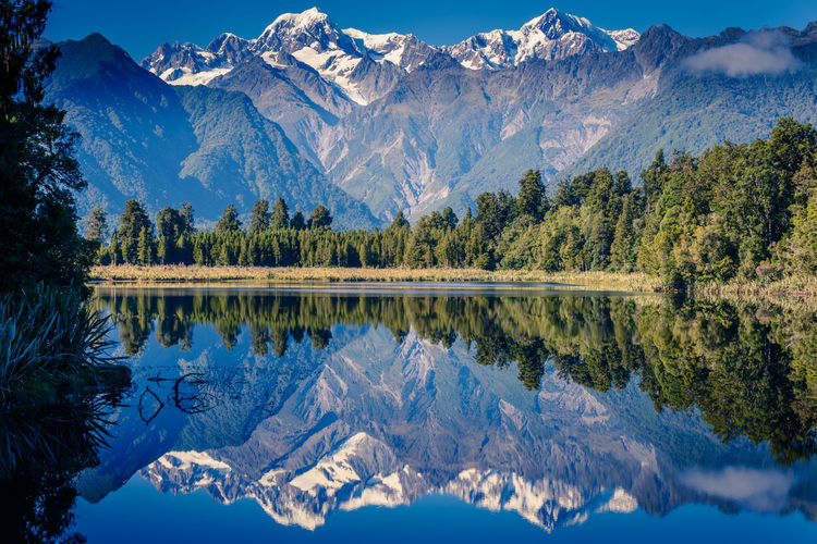 Mirror lake Beauty In Nature Cold Temperature Day Formation Idyllic Lake Mountain Mountain Peak Mountain Range Nature No People Non-urban Scene Outdoors Pine Tree Plant Reflection Scenics - Nature Snow Snowcapped Mountain Tranquil Scene Tranquility Tree Water Waterfront Winter EyeEmNewHere A New Beginning