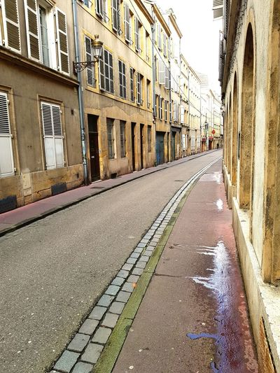 Streets of Metz Metz, France France Silence Street Architecture Building Exterior Built Structure The Way Forward City Day Outdoors No People