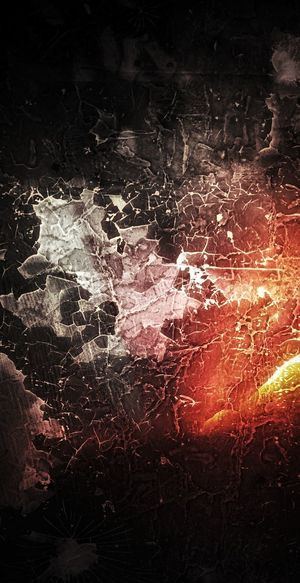 Abstract Dark Darkness Glow Burning Embers Cracks Cracked Fire Lava Wallpaper High Definition Black Orange Red White Texture Textured  No People EyeEm Selects