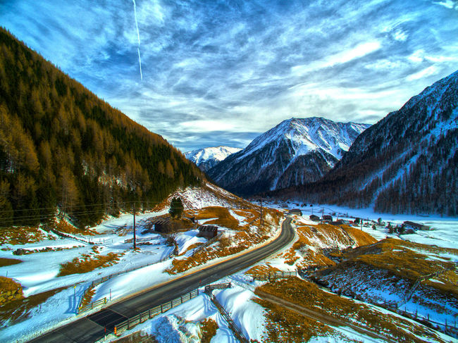 Drone Picture, Dji, Snow, Tirol, Landscape, Flying, The Great Outdoors - 2016 EyeEm Awards