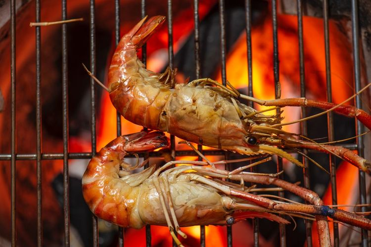 Grilled shrimp Grilled Shrimp Crustacean Seafood Close-up Animal Animal Themes One Animal No People Food And Drink Crab Food Animals In The Wild Crab - Seafood Wellbeing Animal Wildlife Focus On Foreground