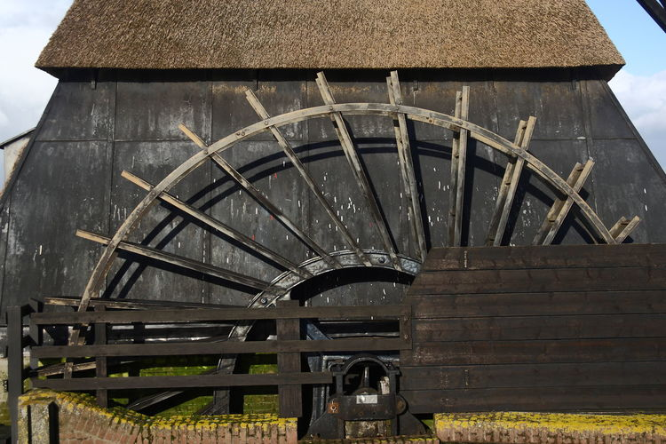 Day Man Made Structure No People Obsolete Outdoors Sky Unesco World Heritage Watermill
