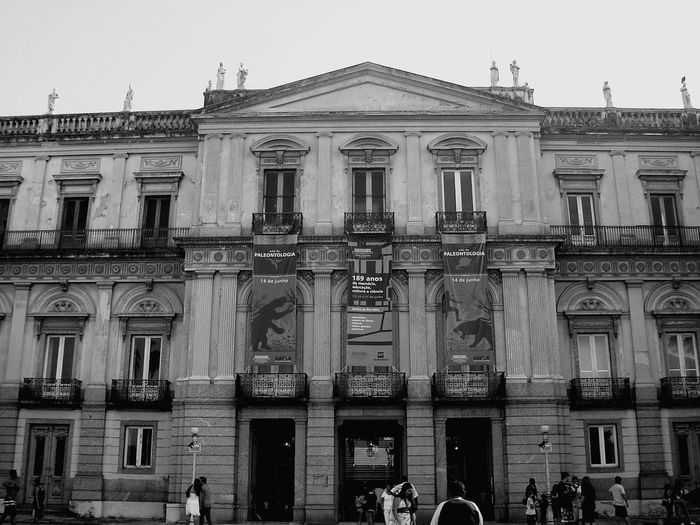 Large Group Of People Travel Destinations Government Politics And Government Architecture Façade People Outdoors City Adult Day Sky Adults Only Museu Da Quinta Black And White Friday