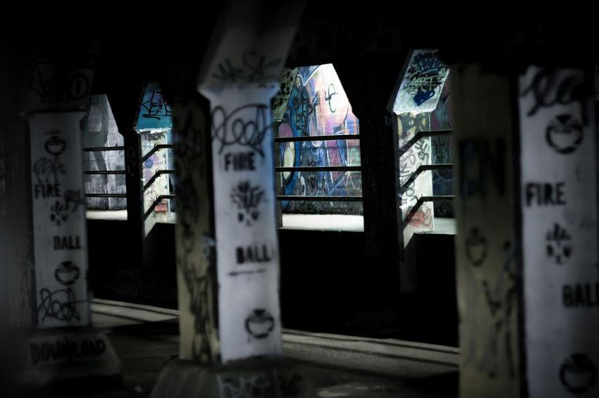 Graffiti in the Krog Street Tunnel in Atlanta, Ga. Fire Ball Atlanta Ga Atlanta Georgia Atlanta, Georgia Graffiti Cabbage Town Graffiti Art Krog Street Tunnel Street Painting Tunnel