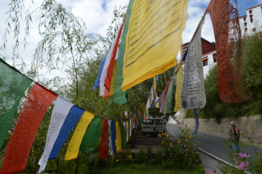 Prayer flags from sightseeing in Leh, Ladakh, August 2016. Himalayas Leh Leh Ladakh India Prayer Flags  Tibet Tibet Travel Tibetan Buddhism Tibetan Prayer Flags