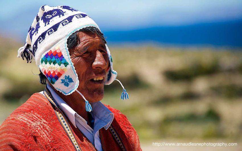Believes Bolivia Chaman Culture Healer Isla Del Sol Man Portrait Religion