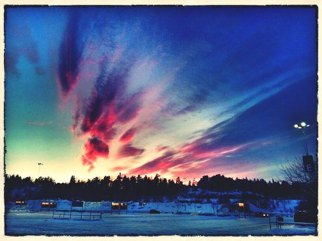 Sunset IKEA Clouds And Sky Stockholm Skyporn Järfälla