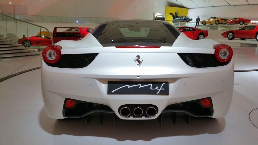 Cars Enzo Enzoferrari Ferrari Ferrari Enzo Museum 2015 Mef Museum White Ferrari