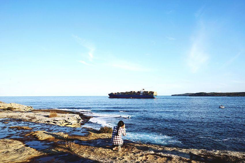 Out to sea. The Global EyeEm Adventure Open Edit EEA3 - Sydney EEA3