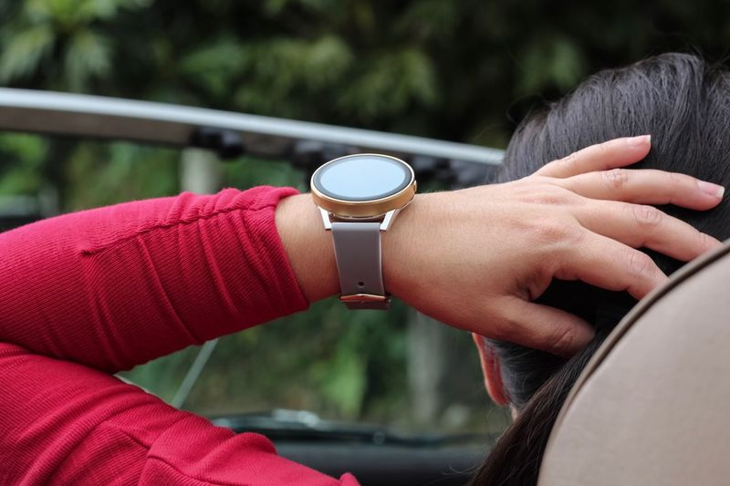 Convertible Red Driving Human Hand Hand Human Body Part Real People Focus On Foreground Close-up One Person Watch Wristwatch Leisure Activity Time Lifestyles It's About The Journey