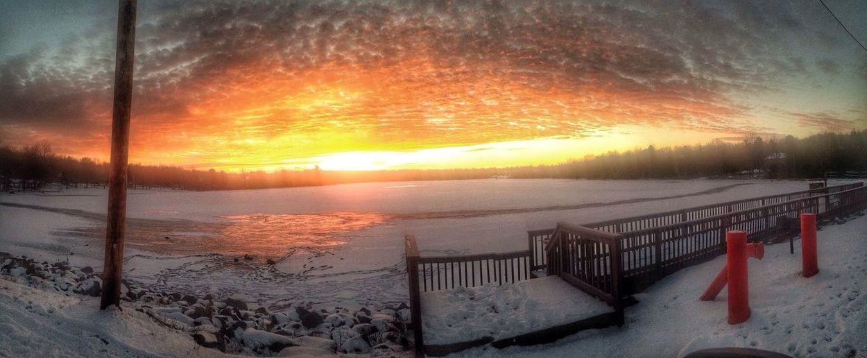 Apocalyptic_sunrise Lake Shangri-La Hdr_Collection Sky_collection