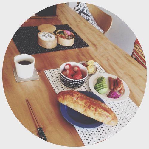 Enjoying Life Breakfast Eating Marimekko