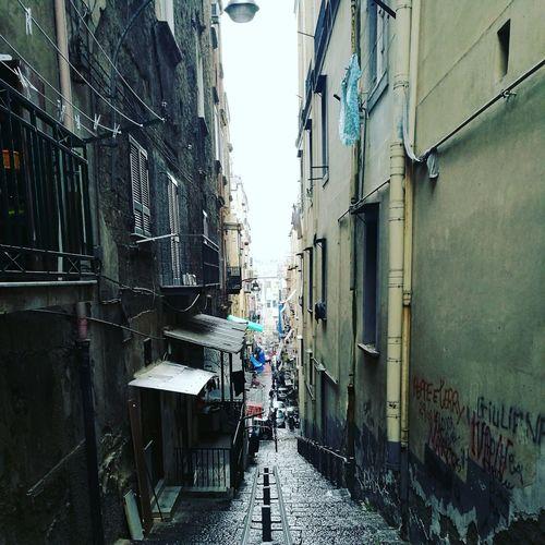 Built Structure Building Exterior Architecture No People Day Italy🇮🇹 Naples Italy Vicoli Di Napoli Quartiere Sanità