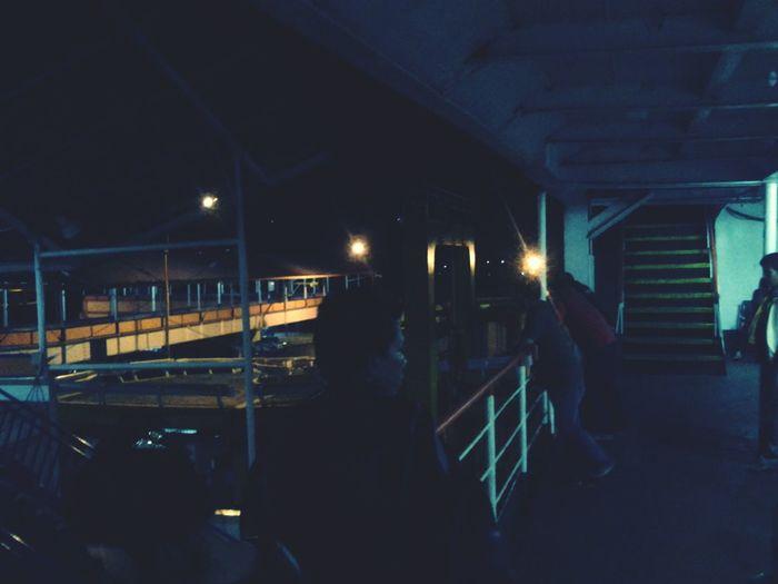 belangau di kapal fery bakauheni
