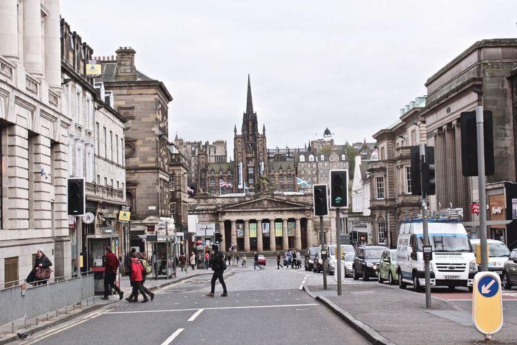 Scotland Edimburgo I Love Scotland