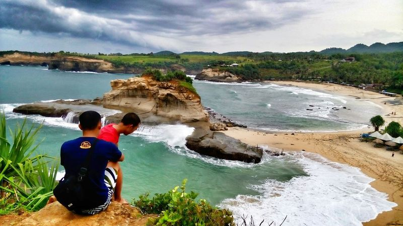 this is vitamin Sea Pacitanbeach Klayar Beach Exploreeastjava INDONESIA Ocean View