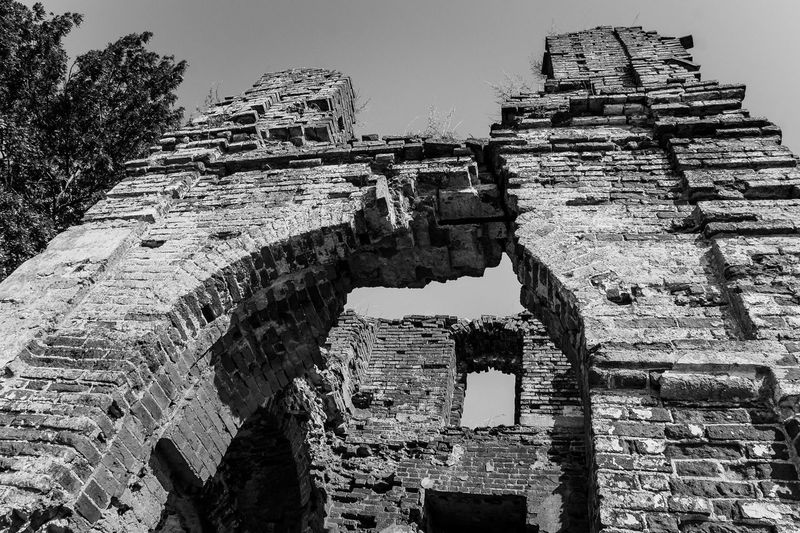 Old ruin of temple