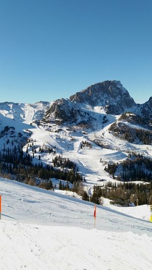 Nassfeld Carinthia Slopes Winter Mountains Snow Cold Temperature Blue Alps Austria A Perfect Day