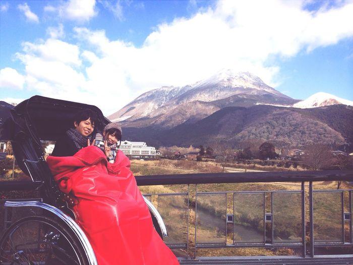 人力車 Mt.Yufu Couple