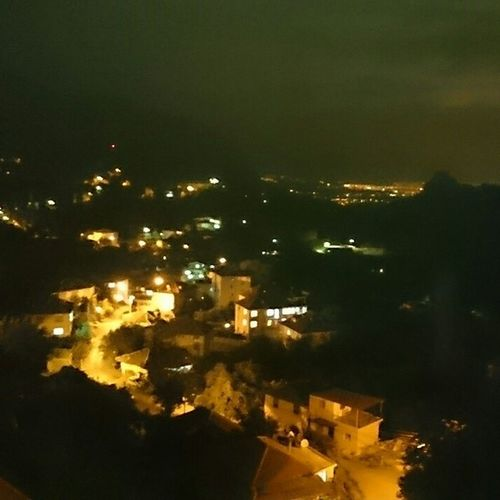 Antalya Köyümüze Geldik Yayla instagood instamood night dark gece ışıklar