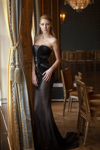 Adult Beautiful People Beauty Blond Hair Check This Out Dress Fashion Fashion Fashion Photography Formalwear Full Length Glamour Hanging Out Hello World Looking At Camera Model Only Women People Portrait Sexygirl Taking Photos Women Young Adult Young Women Close-up