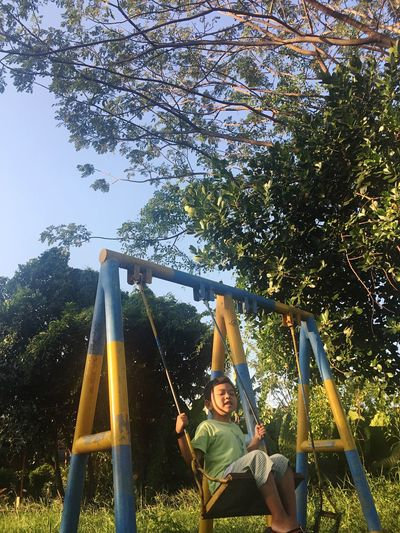 Kids Playpark Trees People And Places
