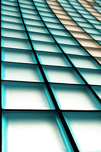 Full Frame Backgrounds Pattern No People Architecture Built Structure Low Angle View Indoors  Day Window Close-up Repetition Design Abstract Sunlight Geometric Shape Glass - Material In A Row Ceiling Lines, Shapes And Curves Colored Symetrical Fullframe Copy Space Long Deep Squares Light Graphical Many