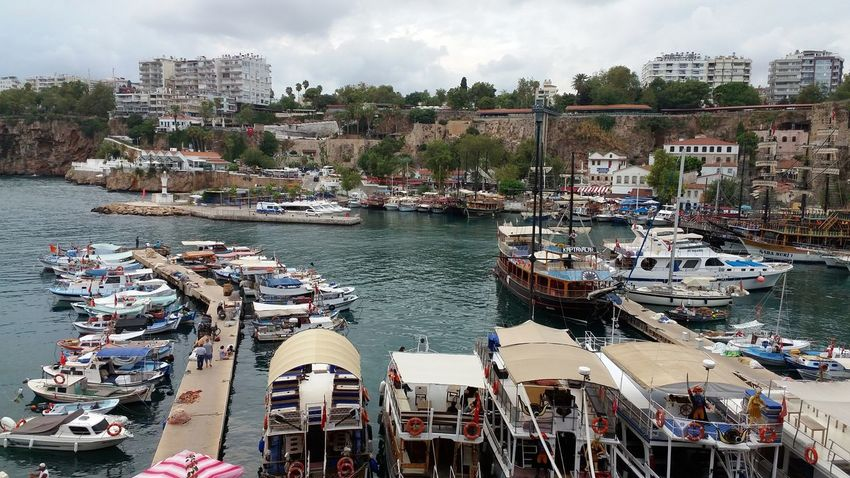 Antalya Antalya Turkey Falezler Falez Seaside Yachts Relaxing Hello World