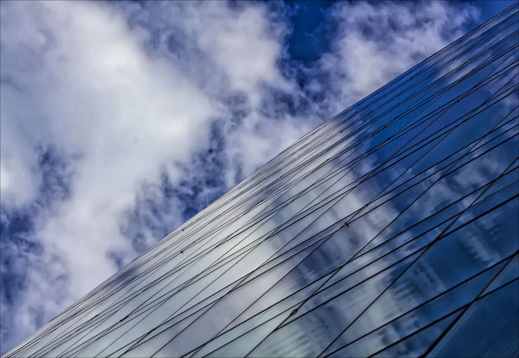 reflective glass architecture Architecture Clouds Glass Architecture Perspective Reflections Reflective Glass Architecture Sky