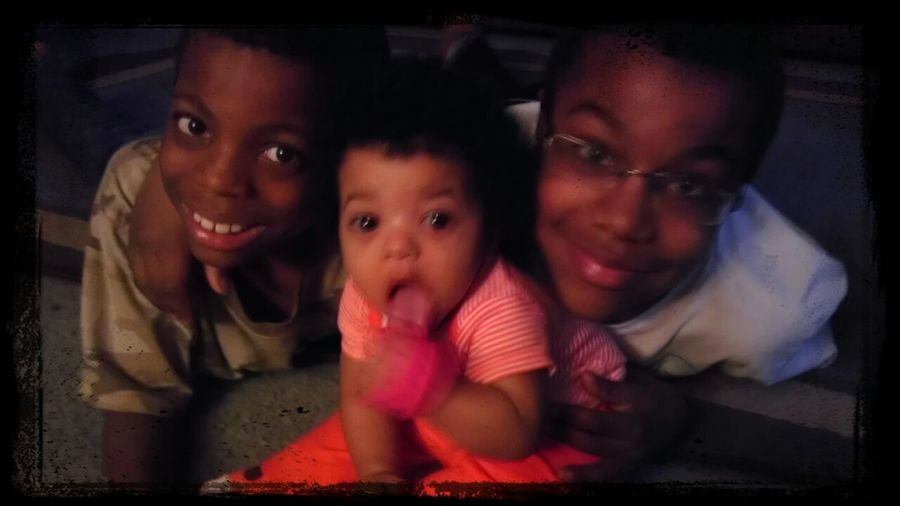 My brothers, and my neice
