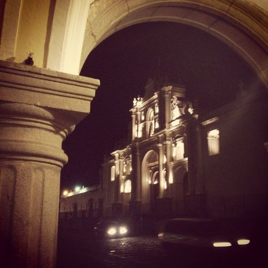 """La Antigua - Guatemala"" Guatemala 09-07-2013 Colors Antigua Guatemala Architecture Night"