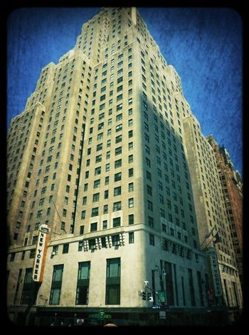 The wonderful New Yorker Hotel. A legend in its own right! New Yorker Hotel The New Yorker Architecture