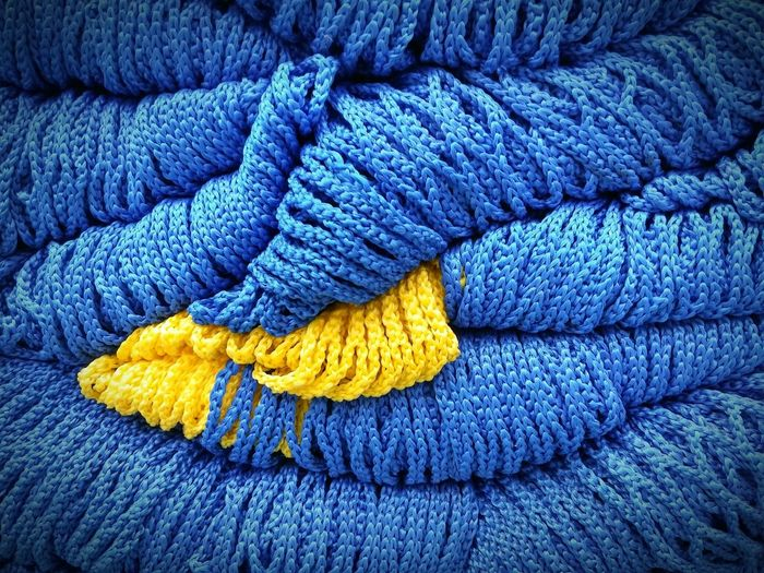 Phuket,Thailand Blue Yellow Colours Rope Nopeople