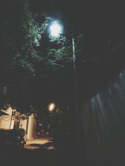Chinese little street Night Illuminated No People Outdoors Sky Star - Space Astronomy Moon Tree Galaxy