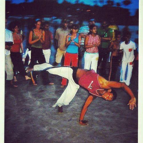 Roda de Capoeira em Jericoacoara . Lugar maravilhoso saudades Sonnenuntergang pordosol sunset beach strand praia brasil brazil goodtimes 2004