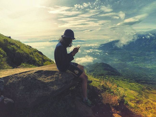 Nature Outdoors Adventure Cloud - Sky Mobile Phone