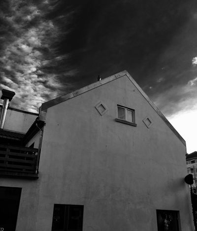 'Old Cafeteria' Old House - Stone House URBex Oslo Architecture Building Exterior Built Structure Cloud - Sky Sky Window Low Angle View House Outdoors Residential Building No People Day (null)Winter2016 ❄ Winter Has Come Oslo, Norway B&W Urbex Urbexphotography Beautiful Day KariJosefiné✨
