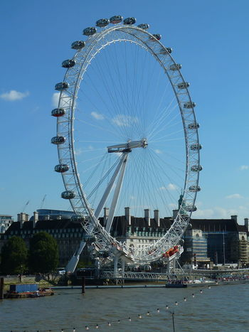 Postcode Postcards Architecture Big Wheel Building Exterior Built Structure City Cityscape Day Ferris Wheel No People Outdoors Sky Travel Destinations Water