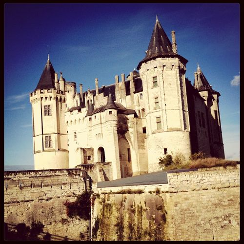 Castle Saumur Loire Valley France