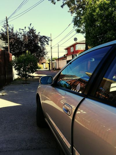 Go! New Car Chile♥ Chilefotos Nissan Almera Santiago De Chile Morning Sun Moving Day (: