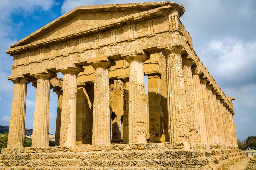 Ancient Architecture Ancient Ruins History Outdoors Ruins Sicily Skyporn Valley Of The Temples