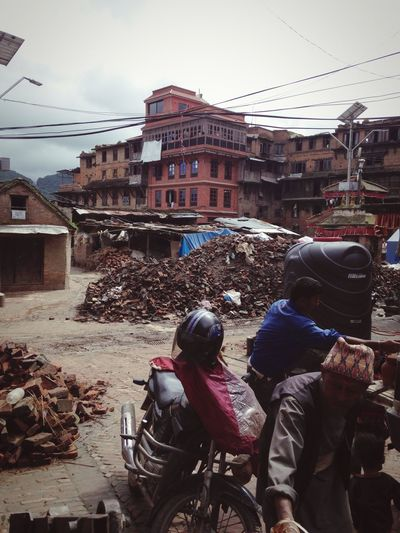 Ruins EarthquakeNepal
