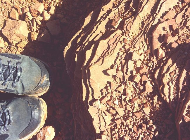 Grandcanyon Hikingboots Perspectives On Nature